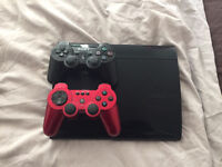 PlayStation 3 slim 500GB CECH-4203C unboxed in good condition plus games with wireless controller