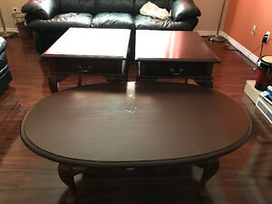 Coffe table and related tables