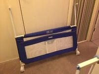 Tomy Blue Child's Bed Guard