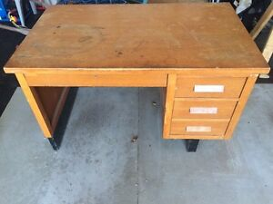 Solid Wood Teacher's Desk London Ontario image 2