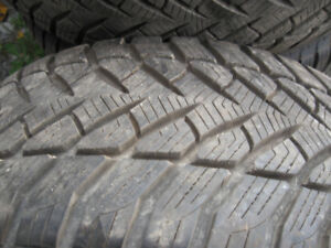 4 Winter tires GoodYeas 235/55R17Crown Victoria Police back