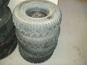 Four 25x10x12 ATV tires in great shape, no sidewall checking