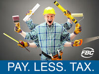 Contractor? Self-Employed? Pay Less Tax!