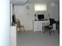 All inclusive two-bedroom basement apartment