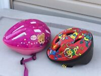 Boys and girls helmets