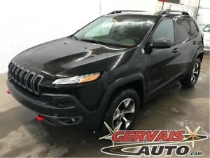Jeep Cherokee Trailhawk V6 4x4 Cuir/Tissus Temps Froid MAGS 2016