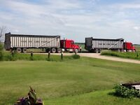 Wanted 1A truckers and swather drivers