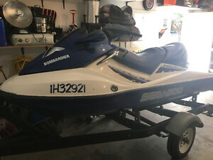 2002 Sea Doo GTX DI personal water craft