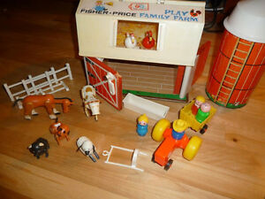 ferme  vintage fisher price