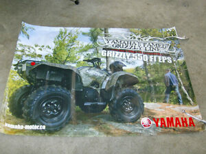 YAMAHA GRIZZLY 550 PROMOTIONAL BANNER