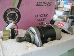 NEW ELECTRIC START KIT FOR OLDER ARTIC CAT SNOWMOBILES