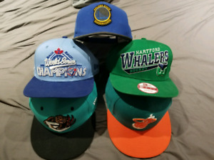 Snapback Hats Blue Jays Grizzlies Miami Heat Golden State Whaler