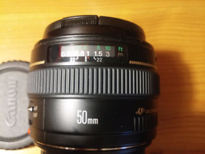 Canon EF 50mm 1.4 Ultrasonic lens