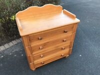 Baby Changer Chest of Drawers
