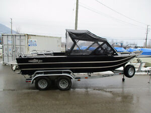 2012 THUNDERJET 19' CANYON W/ KODIAK 350  CLEARANCE PRICED!