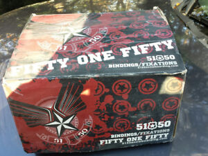 Fifty one Fifty Bindings for sale - new in box never used $60.00