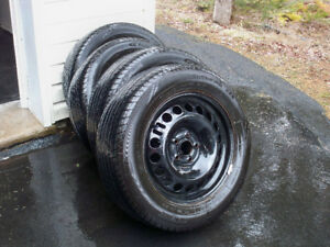 FOR SALE: 215 60 R16 all season tires on rims from Cruze