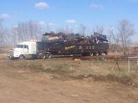 Cleanup Scrap Iron, Farm Equipment Salvage, Metal, Oilfield Junk