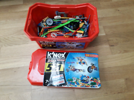 K'Nex - 520 piece box