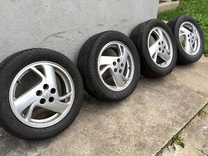 4 Roues MAGS Pontiac Sunfire GT Cavalier avec 4 pneus d'été