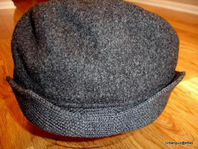 - Mens Classic  Kangol  Wool  504  Earlap  Cap  Color  Dark Flannel Grey