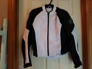 Woman's motorcycle jacket