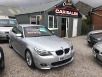 BMW 520D MSPORT AUTOMATIC/TIPTRONIC (161BHP) VERY TIDY CAR FINANCE PARTX
