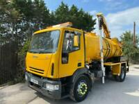 IVECO EUROCARGO WHALE VACUUM TANKER GULLY SUCKER COMBINATION 18 TON MANUAL