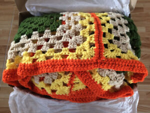 Knitted Throw/Afghan – Brand New!