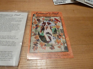 Quilt Block pattern for Fox Hound and Grapes New in Package Kingston Kingston Area image 1