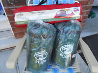 Tera Guard tent 2 person wedge tent and 2 new sleeping bags