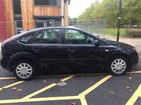 Ford Focus 2006 1.6 LX AUTOMATIC 5 doors black 1 year MOT lots of new parts