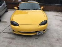 Mazda mx5 2.5 1.6 5 speed manual ARIZONA