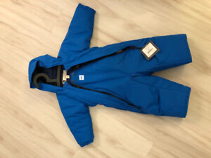 MEC infant toaster one piece snowsuit - never worn with tags