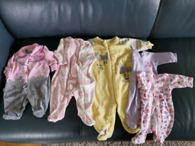 Baby girl clothes bundle tiny to 3 months