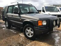 2002 51 LAND ROVER DISCOVERY 2.5 TD5 GS 7SEATER 5D DIESEL