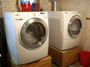 Whirlpool Front-Load Washer/Dryer Set