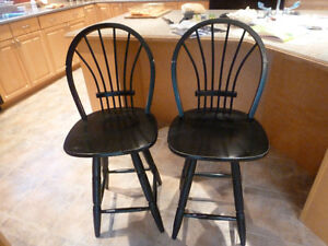 Pair of bar stools.