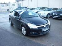 2007 Vauxhall Astra 1.8 16v Twin Top Design Convertible Finance Available