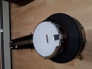 Banjo Fender comme neuf avec étui