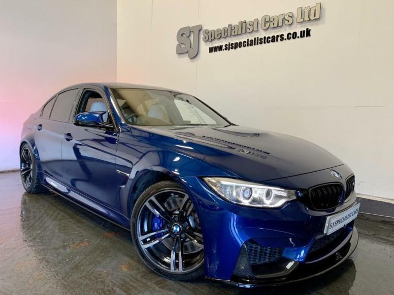 2016 Bmw M3 Saloon Dct M Performance Individual Avus Blue 14k