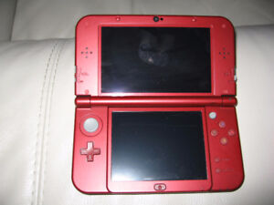 Nintendo 3DS XL Red Console