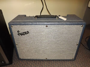 SUPRO DUEL TONE 1624T TUBE AMP BEING SOLD BELOW COST !