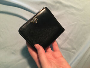 Small, Black Fossil Wallet