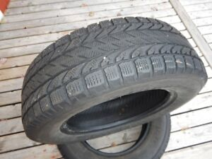 Two 15 inch Winter tires