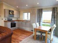 DOUBLE LODGE*FOR SALE*SITED*OVERLOOKINGTHE RIVER LUNE * nr MORECAMBE