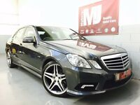 2010 MERCEDES E350 CDI AUTO SPORT AMG ONLY 77K