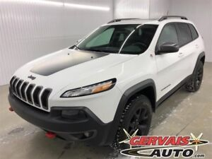 Jeep Cherokee Trailhawk V6 4x4 Toit Ouvrant GPS 2016