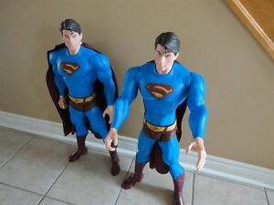 SUPERMAN RETURNS GENUINE MATTEL INC 2006 ACTION FIGURE 30 inTALL London Ontario image 7