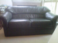 Mint Condition Leather Couch and Love Seat - $425 (Langford)